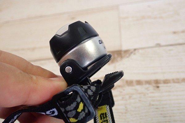 SiSO-LAB☆軽量ヘッドライト。GENTOS LED HELP LIGHT HC-12SL。子どもにいいかな?開封の儀的レビュー。クリップ付き。