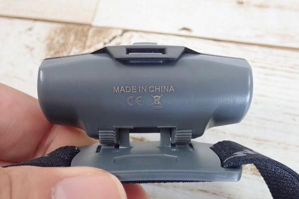 SiSO-LAB☆Litomヘッドライト、単三電池1本。角度調整。
