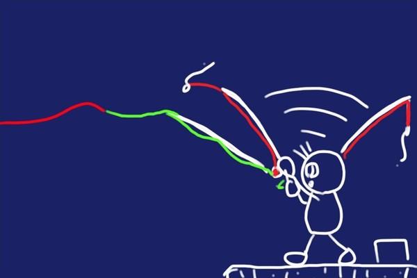 チョイ投げ釣り!からもう一声投げれるように。力糸の代わりに1段太い道糸を追加。リーダーとの違いを考えてみる。