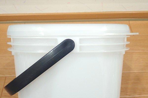 SiSO-LAB☆釣・トラスコ角型5Lバケツ(コマセバケツ)。開封の儀。フタつき。密閉。