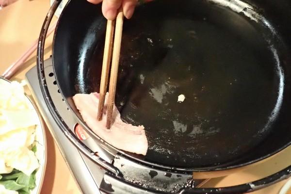 SiSO-LAB☆ジビエ、猪肉ですき焼き。すき焼きの作り方。