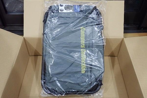 SiSO-LAB☆キャンパーズコレクション リュックチェア CLSB-01。開封の儀。