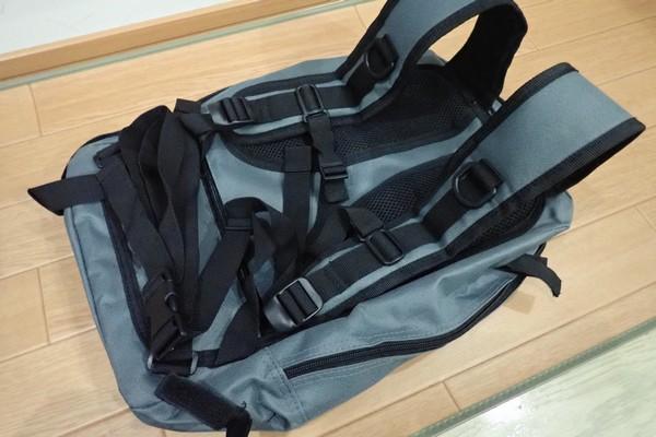 SiSO-LAB☆キャンパーズコレクション リュックチェア CLSB-01。妙に充実のベルト類。