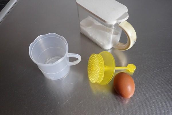 SiSO-LAB☆100均ダイソーグッズでモンサンミッシェル風のふわふわオムレツを作る。ふわ泡ホイッパー。使い方。材料とか道具とか。