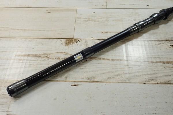 SiSO-LAB☆中華ノーブランド2.1M振り出し竿。持ち手側も伸びる。