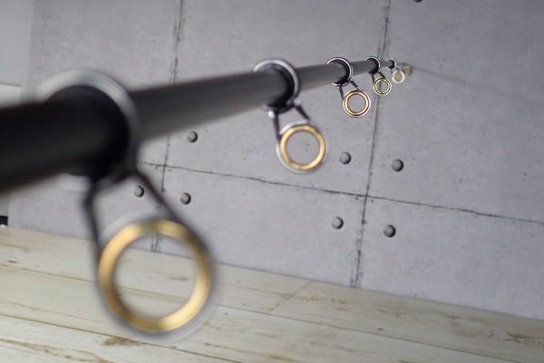 SiSO-LAB☆中華ノーブランド2.1M振り出し竿。竿はしっかりまっすぐ。