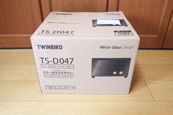 SiSO-LAB☆TWINBIRD オーブントースター TS-D047B。amazonより購入。