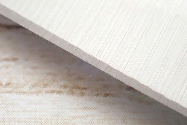 SiSO-LAB☆100均・小出刃包丁、切っ先トリム&研ぐ。まあ切れるけどサンダー仕上げと思われる。