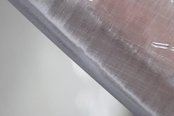 SiSO-LAB☆100均・小出刃包丁、切っ先トリム&研ぐ。刃もきれいになったよ。