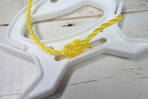 SiSO-LAB☆釣・巻きロープホルダ小T-30。実際にロープを取り付けてみる。