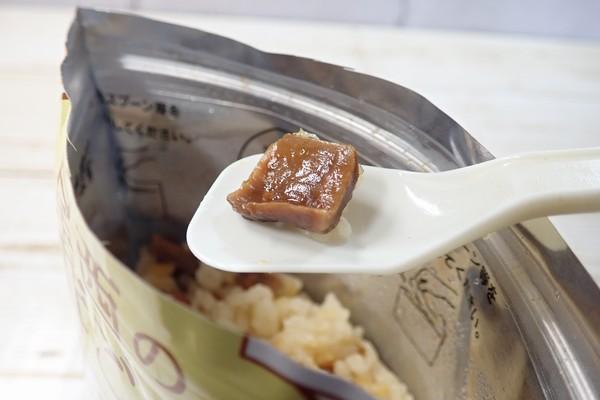 SiSO-LAB☆尾西食品 松茸ごはん。これって松茸?