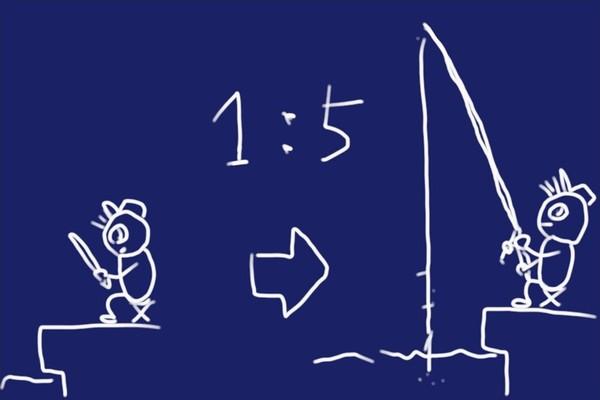 新しい釣り竿購入、プロトラスト プレステート 波止磯遠投SP 3-420。4.2m竿だけど仕舞寸法84cm。短くコンパクトになって良い感じ。