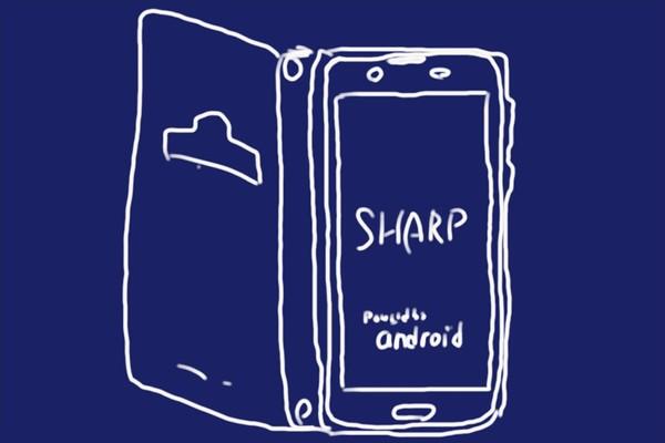IIJmioで購入したSHARP AQUOS sense plus SH-M07に手帳型ケース(shizuka-will-)を付けてみたよ。スイッチ操作もピッタリでいい感じ。