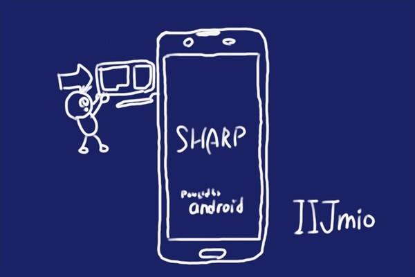 格安SIM、IIJmioキャンペーンで購入したSHARP AQUOS sense plus SH-M07、APN設定も1タップで簡単。
