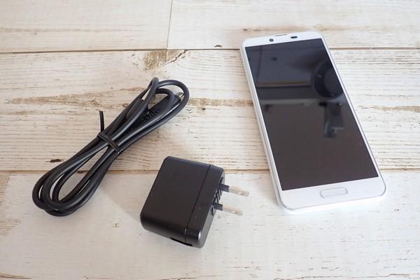 SiSO-LAB☆格安SIM、IIJmioでSHARP AQUOS sense plus SH-M07購入。初充電。