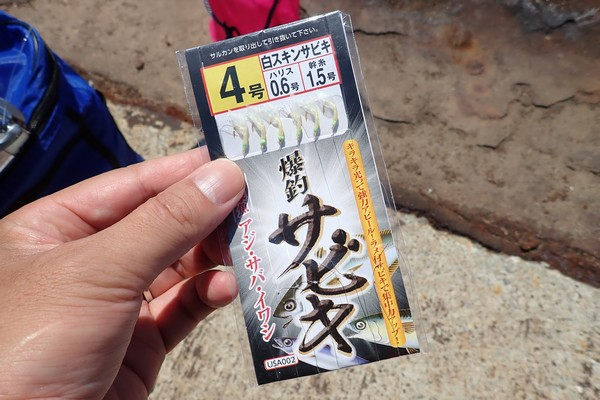 SiSO-LAB☆強風の中釣り。プロトラスト3-420、リール、デビュー仕掛けはRiseway爆釣サビキ仕掛け4号。