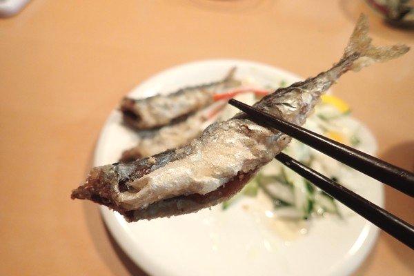 SiSO-LAB☆強風の中釣り。プロトラスト3-420、リール、デビュー。サバ、サッパの唐揚げ、できあがり。