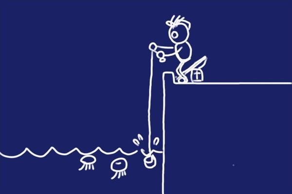 SiSO-LAB☆釣・小さな水汲みバケツ、かなり便利。