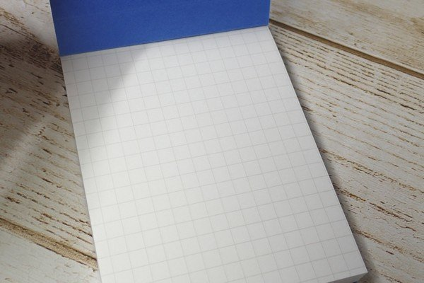 SiSO-LAB☆RHODIAにそっくりなダイソーm.memo。5mm方眼の罫線。