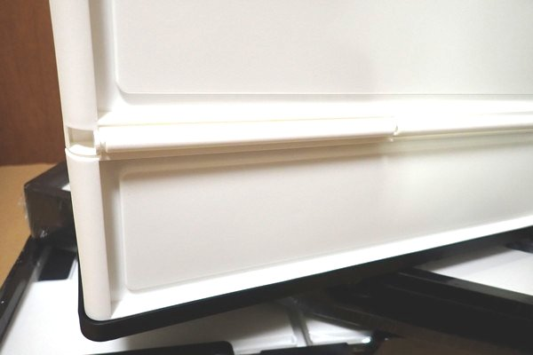 SiSO-LAB☆アウトドアでも家庭でも便利な取っ手付き折りたたみコンテナ。割としっかりした造り。