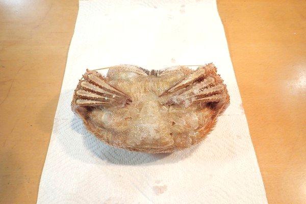 SiSO-LAB☆ふるさと納税 北海道千歳市 毛ガニ2尾1kg。SiSO家的毛ガニ解凍方法。