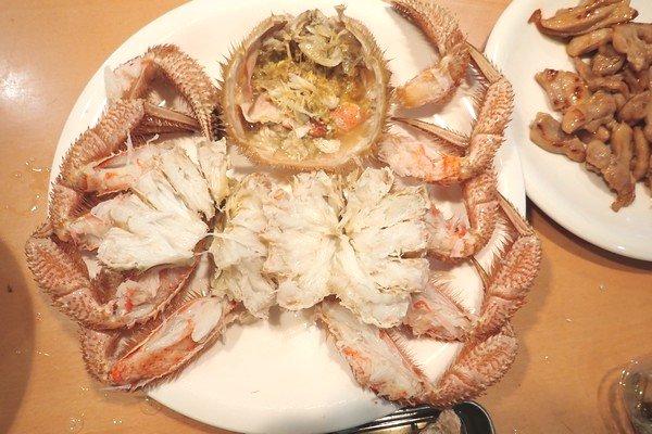 SiSO-LAB☆ふるさと納税 北海道千歳市 毛ガニ2尾1kg。SiSO家的毛ガニ解凍方法。捌けた。いい感じ。