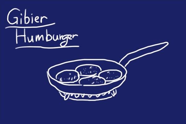 SiSO-LAB☆iふるさと納税ジビエ、シカ肉&イノシシ肉合挽ミンチでハンバーグ。