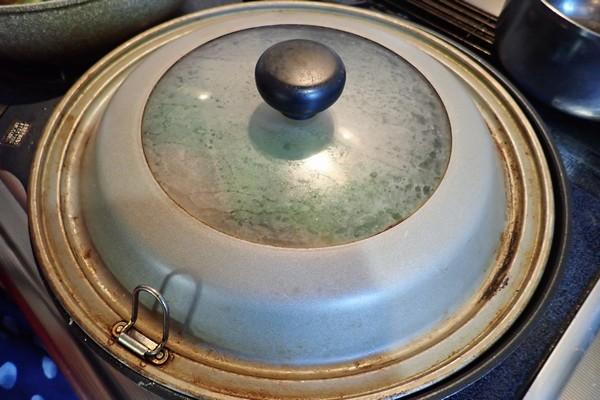 SiSO-LAB☆iふるさと納税ジビエ、シカ肉&イノシシ肉合挽ミンチでハンバーグ。蒸し焼き。