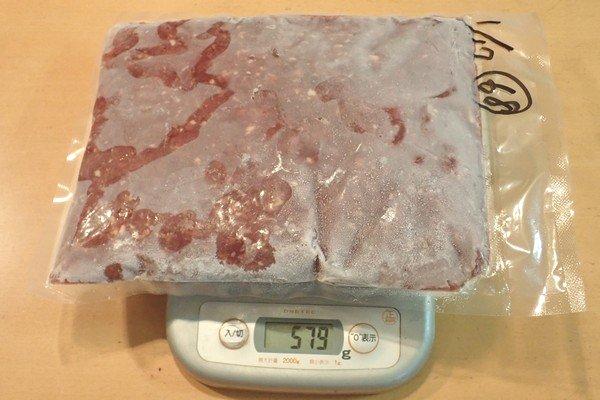 SiSO-LAB☆ふるさと納税・ジビエ・岐阜県山県市・シカ肉約1.1kg。シカ肉ミンチ。