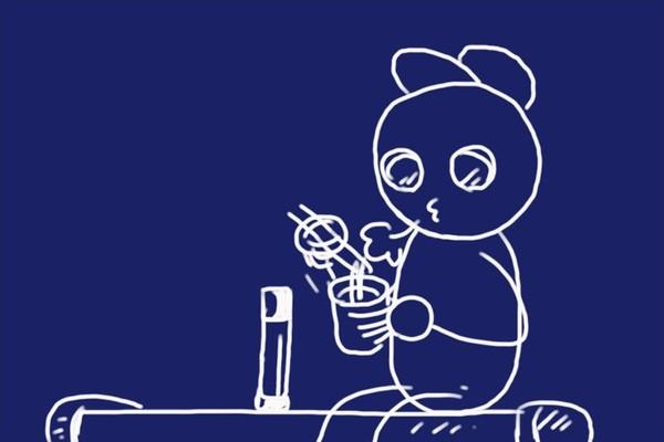 SiSO-LAB☆ハイキングで食べるカップ麺って格別。