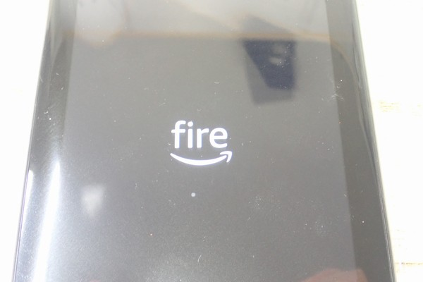 SiSO-LAB☆amazon fire 7、起動画面。
