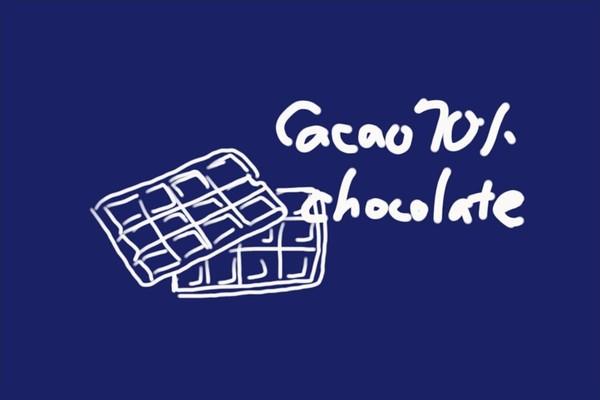 SiSO-LAB☆ハイカカオ70%チョコレート