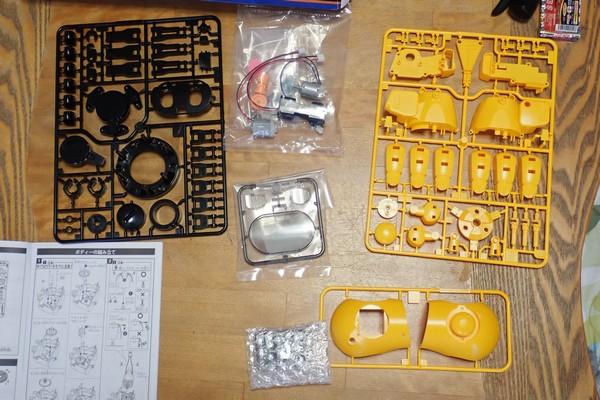 SiSO-LAB☆エレキット MR-9107 フォロ。部品一覧。