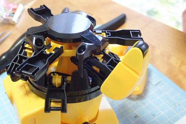 SiSO-LAB☆エレキット MR-9107 フォロ。脚部組み立て。