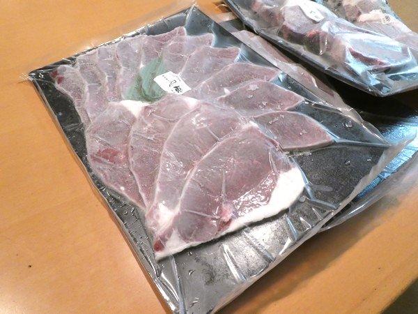 SiSO-LAB☆ふるさと納税・北海道鷹栖町・エゾ鹿肉1㎏。モモスライス。