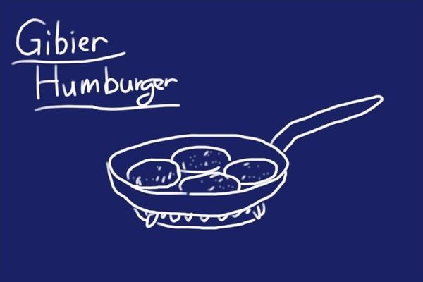 SiSO-LAB☆ふるさと納税・徳島県那賀町、阿波ジビエ 那賀町産シカ肉 ・イノシシ肉の合挽ミンチでハンバーグ。