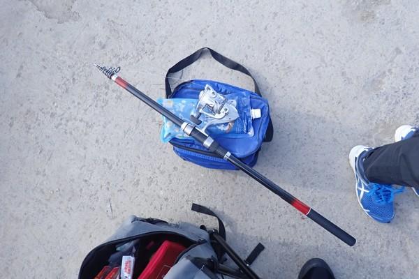 SiSO-LAB☆軽装で釣り。
